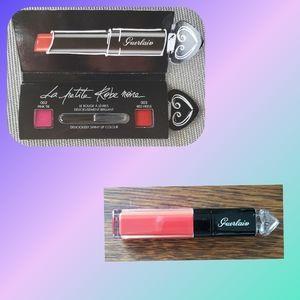 Guerlain La Petite Robe Noire lip colour'ink FS+